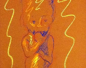 Book Illustration - Fetus