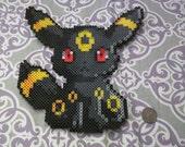 Pokemon - Chibi Umbreon - Perler Beads
