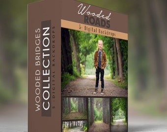 Wooded Roads - Collection - Digital Backdrops