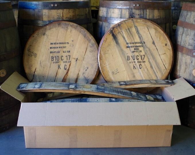 Whiskey Barrel In a Box - Kiln Dried