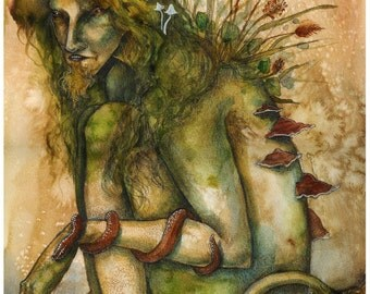 Troll - A3/A4 fantasy art print