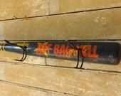 Wooden Vintage Baseball Bat Cap or Coat Rack Tee Ball Bat Jeff Bagwell