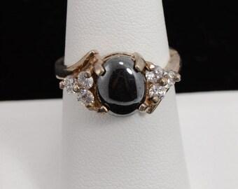 Hemitite Sterling Silver Ring