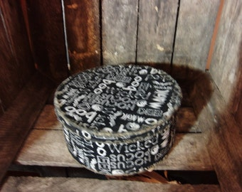 Halloween Fabric Box