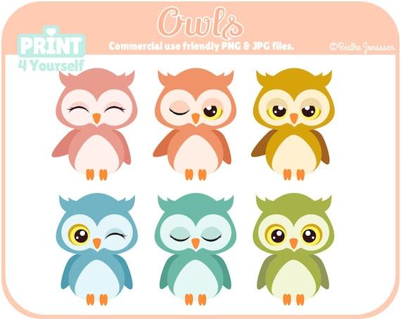 instant download owls cliparts owl clipart bird clipart rh catchmyparty com owl clip art svg owl clip art sport
