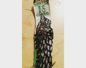 House Stark handmade macrame bookmark