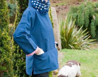 Cornish Navy Gardening Smock
