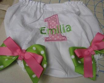birthday diaper cover,birthday bloomer, 1st birthday, 2nd birthday, smash cake photo,
