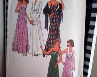 Simplicity 7807 Pattern DIY Misses Dress And Unlined Jacket - Partially CUT