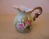 Vintage cream jug, signed, marks and numbered, pre-used