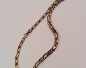 Gold toned necklace 16 in