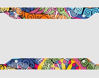 Festival - License Plate Frame