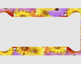 Daisies- License Plate Frame