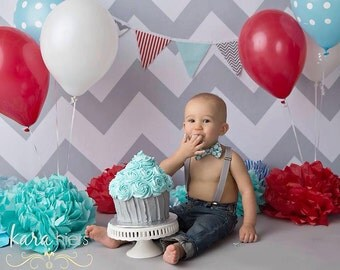 Mint grey polka dot bow tie and suspender set..boys cake smash outfit..boys birthday clothes..boys bow tie..boys suspenders..ringbearer tie