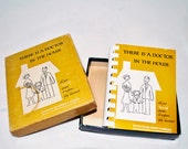 "Vintage 1957 Fully Illustrated First Aid Instructional Book ""There Is A Doctor In The House"""