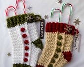 Stocking Gift Holder - PDF crochet pattern ONLY - Christmas, Holiday, Party, Secret Santa, Teachers, Gifts
