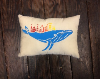 St. John's Whale Pillow