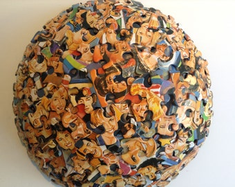 Who's Looking at You Jigsaw Puzzle Bowl