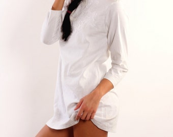 White Linen beach cover-up