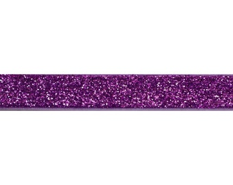 """Lilac - 5 Yards 5/8"""" Glitter Elastic - 5/8-G-011"""