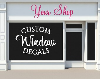 Custom Car Window Decals Business Logos Custom Business - Custom car window decals business