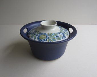 A Figgjo Flint Tor Viking—Turi Gramstad -Oliver Design Covered Casserole Made in Norway