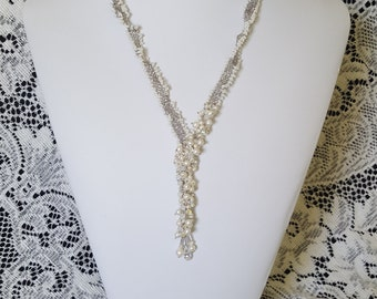 Stitched Bridal Necklace