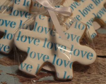Puzzle piece favors
