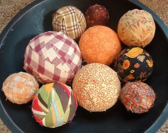 Autumn Rag Ball Set