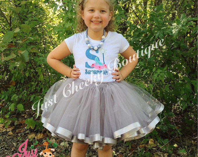 Cinderella Birthday Tutu Outfit - 1st Birthday - Disney Vacation - Birthday Tutu - Smash Cake Outfit - Disney Princess Birthday - 1st Disney