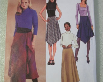 Butterick 3971 Misses (Size 18,20,22) skirts.   EASY!