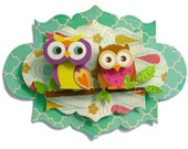 Owl, 3D Scrapbook Embellishment, Paper piecing, gift tags, Scrapbooking Layouts, Cards, Mini Albums, brag book, Paper Crafts