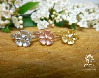 Flower Spring Ring