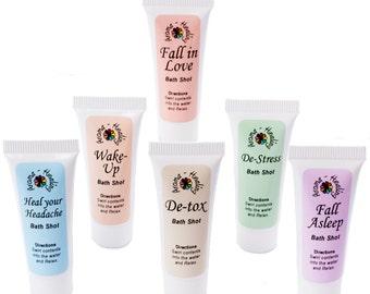 Bath Oils   Bath Shots   Healing Bath   Essential Oils Blends   Aromatherapy Baths   Luxury Spa Bath   Stocking Filler