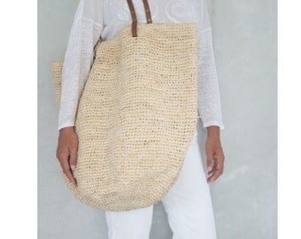 Summer Tote Bag Raffia Shopping Bag Woven Beach Bag Tote