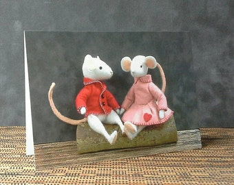 Greetings card - Thornton and Rosie