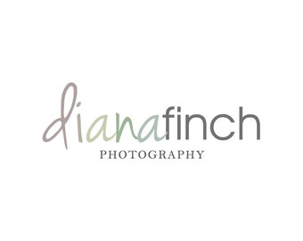 Typography Photography Logo Design - Premade Logo and Watermark Premade Photography Logo Design - 115