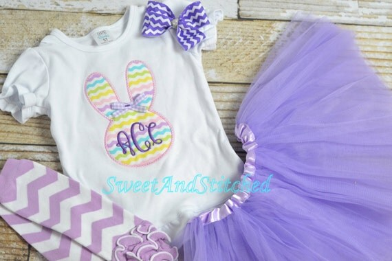 Girls Easter Shirt personalized (or outfit), Monogrammed girls Easter outfit, Embroidered girls Easter Shirt with monogram