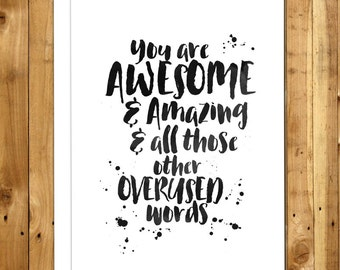 Funny Valentines Day Card - Funny Valentine - Funny Love Card - Anniversary Card - For Boyfriend - For Him - You Are Awesome & Amazing