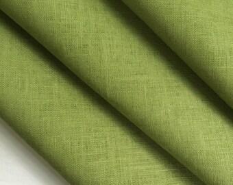 Linen Napkins Set 9 Green