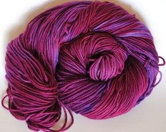 Iris- Hand dyed  DK yarn