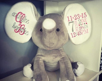 Baby Announcement Elephant