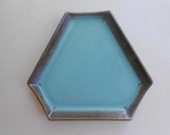 Vintage Trinket Dish US Ceramic Tile Company Canton Ohio