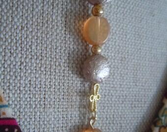 Delicate Plunging Jewel Drop Necklace