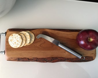 Cherry Cutting Board,Charcuterie Boards, Personlized Cutting Board, Cheese Boards, Bread Board,Wood Tray,Engraved Wood Cutting Board