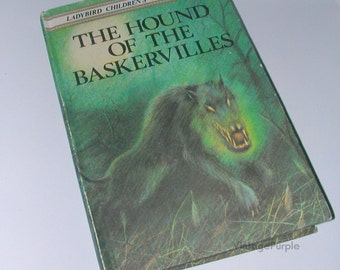 Vintage Ladybird book Hound of The Baskervilles Sherlock Holmes First Edition