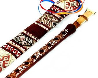 Duduk Professional Armenian, Apricot Wood, Pro Duduk, Balaban, Armenian Oboe, Reed, Armenian Duduk, A Key, Case and A Surprise Gift