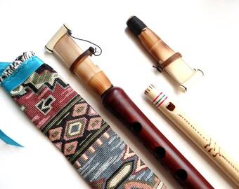 Duduk Armenian Professional 2 Reeds Armenian Oboe Case and Free Gift Flute, Armenian Duduk, Armenian Musical Instrument, Pro Duduk