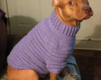 Custom Made Dogs Turtle Neck Sweater