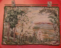 Dollhouse Miniature Petit Point Tapestry
